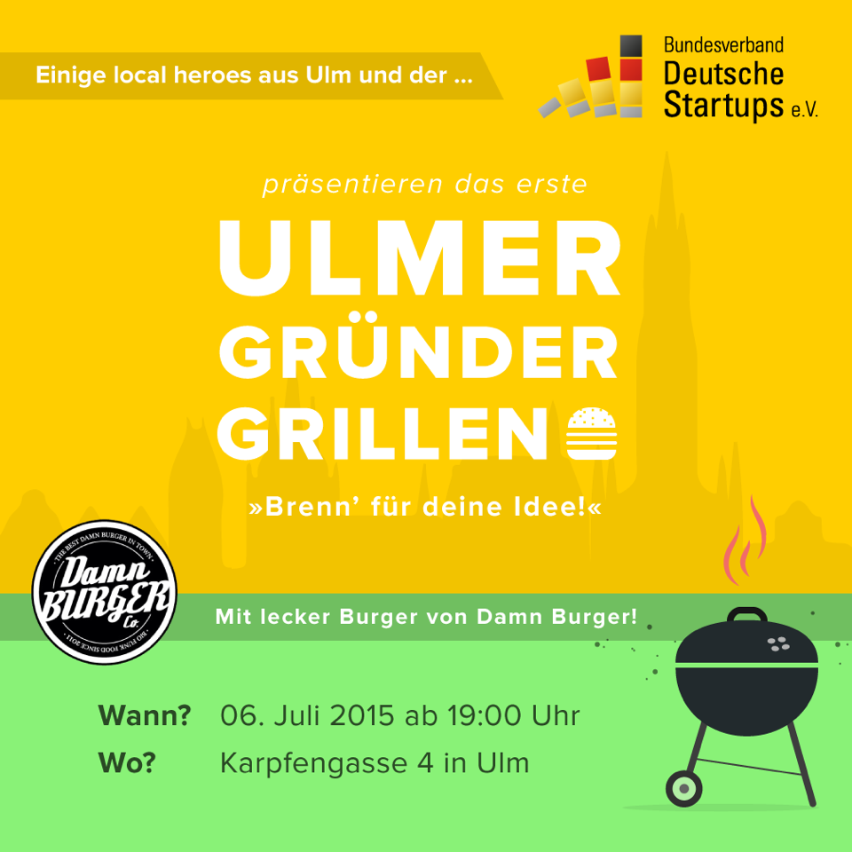 Gru&F Gründergrillen Ulm gruf